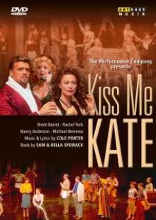 DVD Performance Company Kiss me kate
