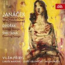 CD Janacek / Dvorak / Smetana Zapisnik zmizeleho / biblicke pisne / vecerni pisne